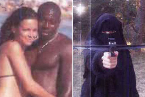 Hayat Boumeddien 和 Amedy Coulibaly