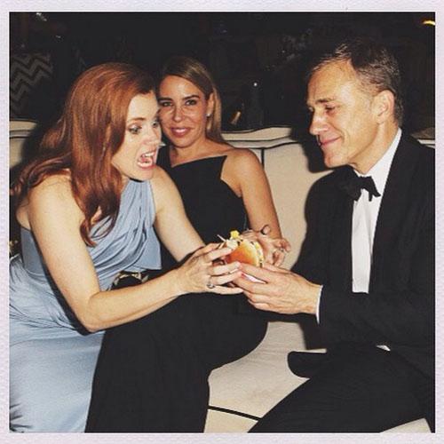 艾美亞當斯、查寧坦圖全都玩瘋了!大明星們金球獎派對上的超歡樂時光全集!