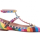 VALENTINO GARAVANI 撞色鉚釘裝飾平底鞋 NT$33,600