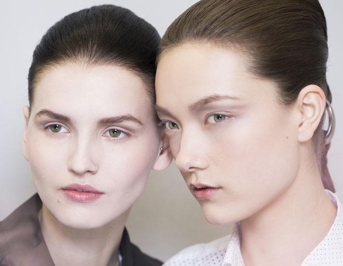 Dior 2015 春夏高級訂製系列 秀場妝容圖