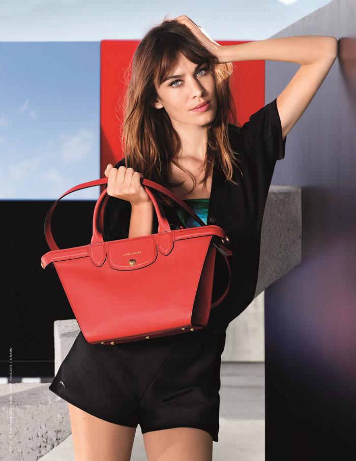 Longchamp 2015春夏形象廣告