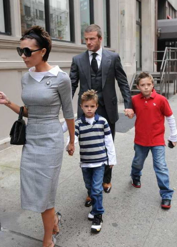 2002年後,貝克漢家族多了一名新成員Romeo Beckham。