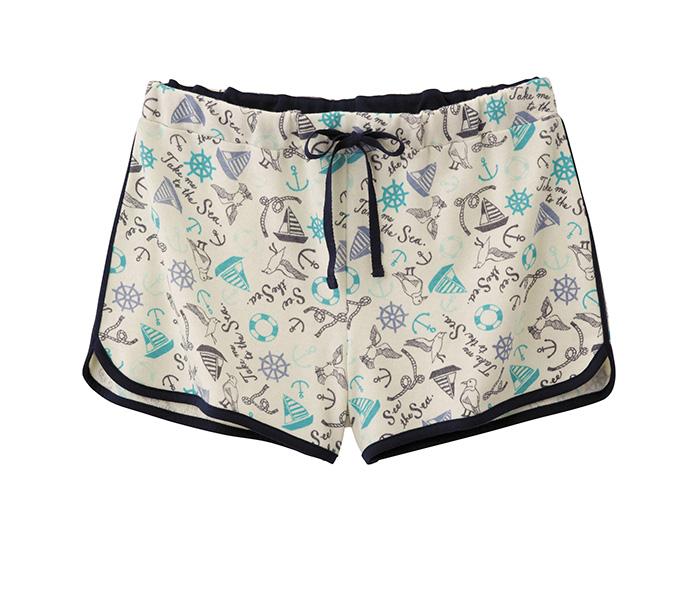 女裝家居短褲 (水手) $350
