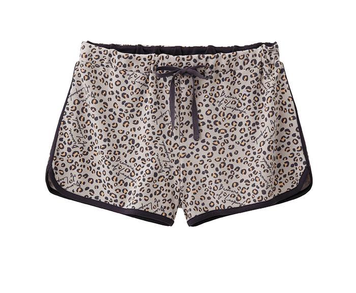 女裝家居短褲 (豹紋) $350