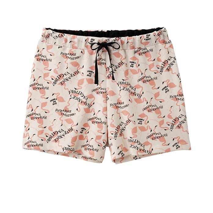 女裝家居短褲 (鷺) $350