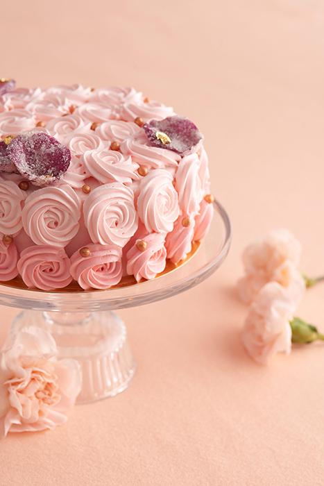 巧克光廊-荔枝玫瑰鮮奶油蛋糕