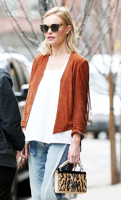 凱特伯絲沃Kate Bosworth鍾愛ZANZAN EYEWEAR,走到哪都黏踢踢!