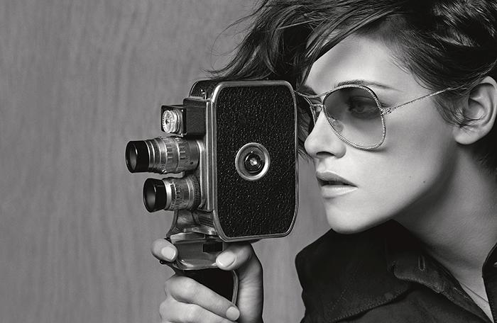 CHANEL 2015春夏眼鏡形象廣告:時尚大師親自掌鏡,克莉絲汀史都華完美演繹