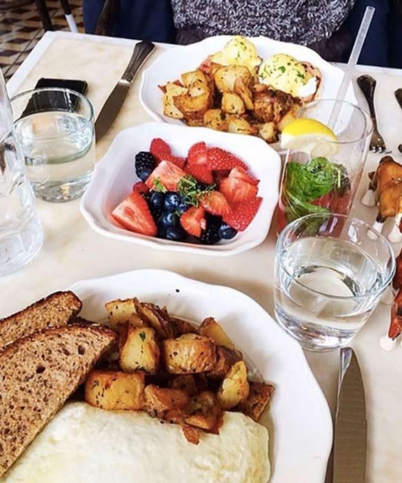 瑞士人氣時尚部落客Kristina Bazan 早午餐