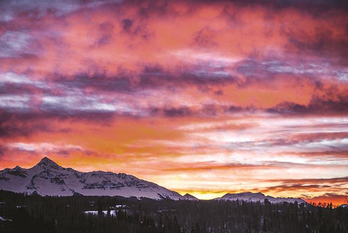 BOBBI BROWN靈感來源 - Telluride特柳賴德夕陽