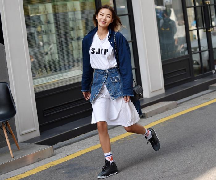 韓國時尚街拍 SJYP