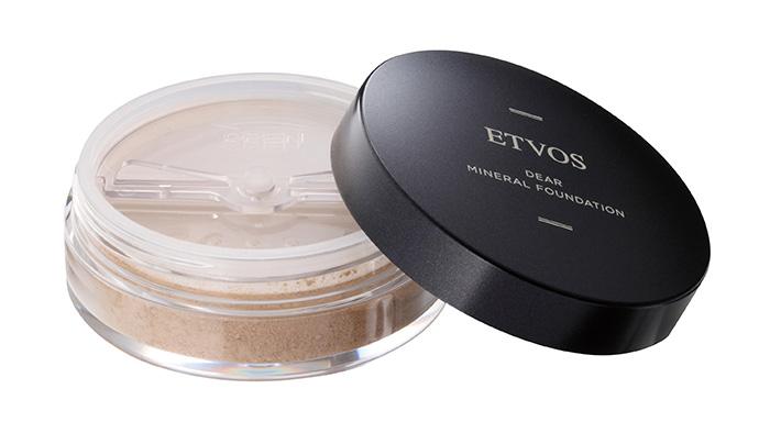 ETVOS光澤清透防曬礦物粉底 SPF25 PA++ 5.5g NT1200(全5色)