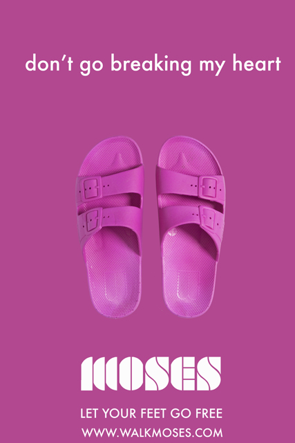 NEU! 獨賣 - MOSES涼鞋LET YOUR FEET GO FREE