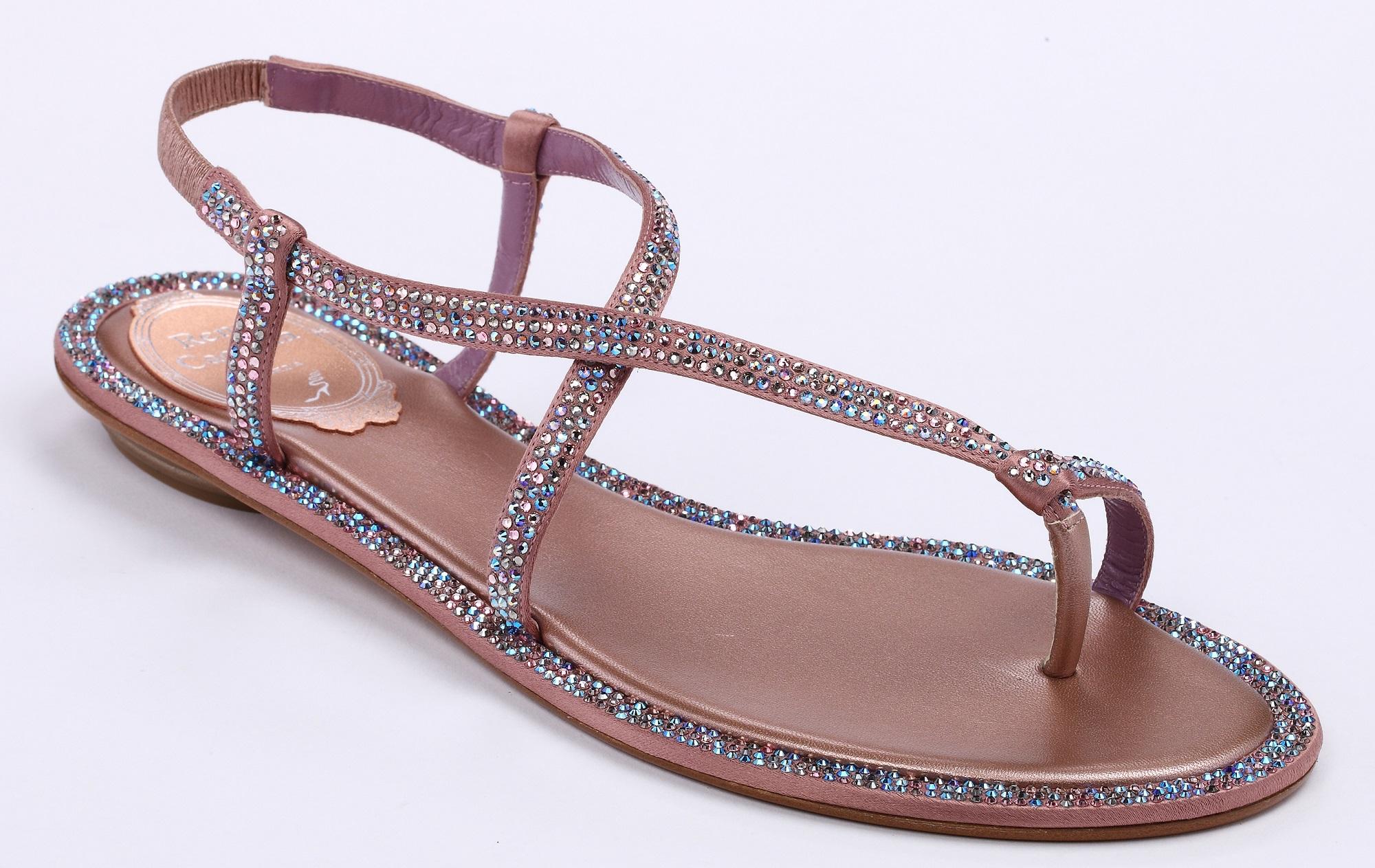 粉鑽繞趾平底涼鞋 NT$39,000