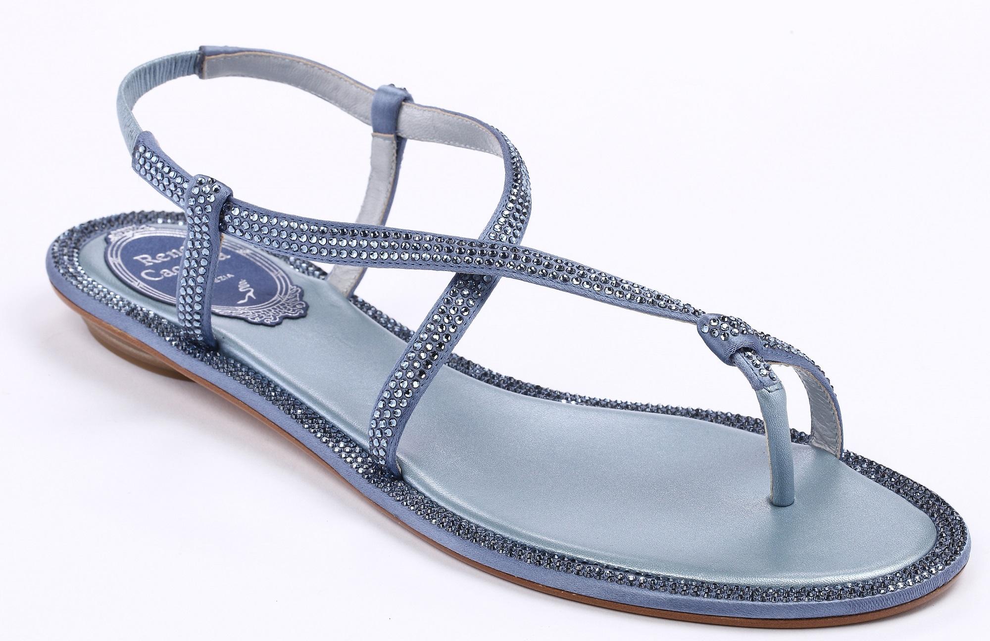 藍鑽繞趾平底涼鞋 NT$39,000