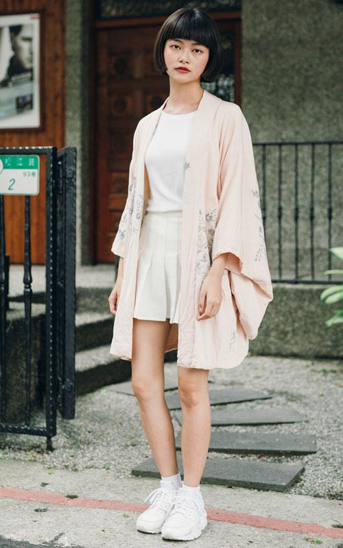 ▲Chih Han Yang 的夏日祭典日系少女風