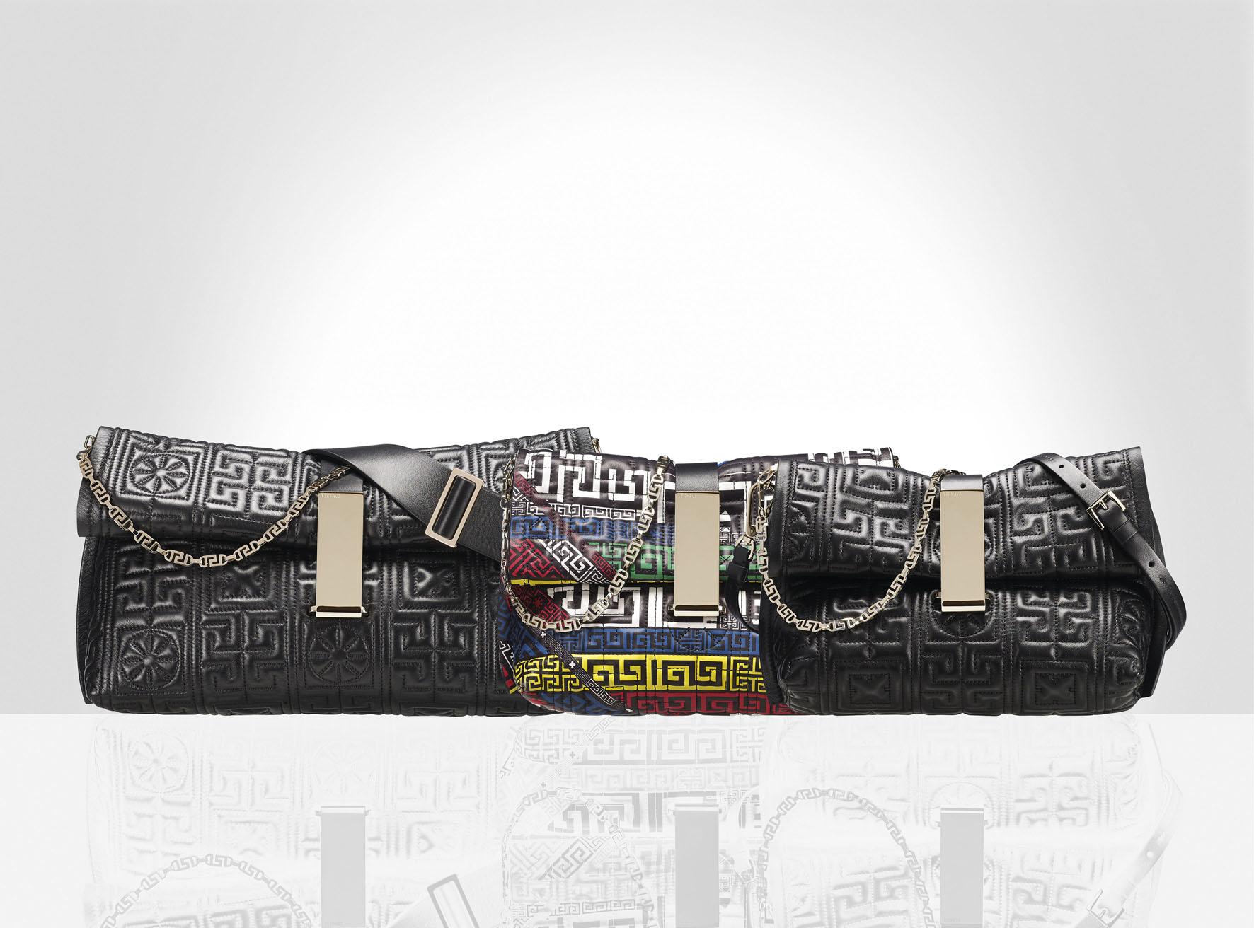 #GREEK 軟牛皮手提包 (左至右) TWD98,000/ TWD97,000/ TWD88,500