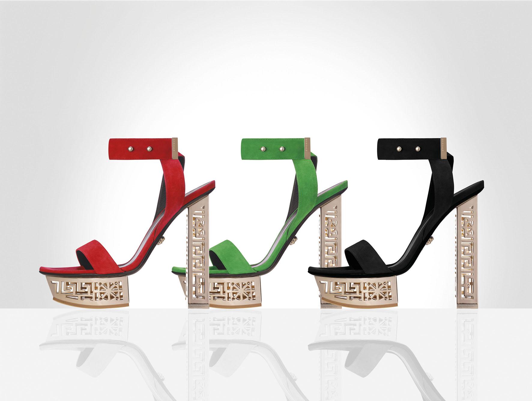 #GREEK 麂皮高跟鞋 每款 TWD51,500