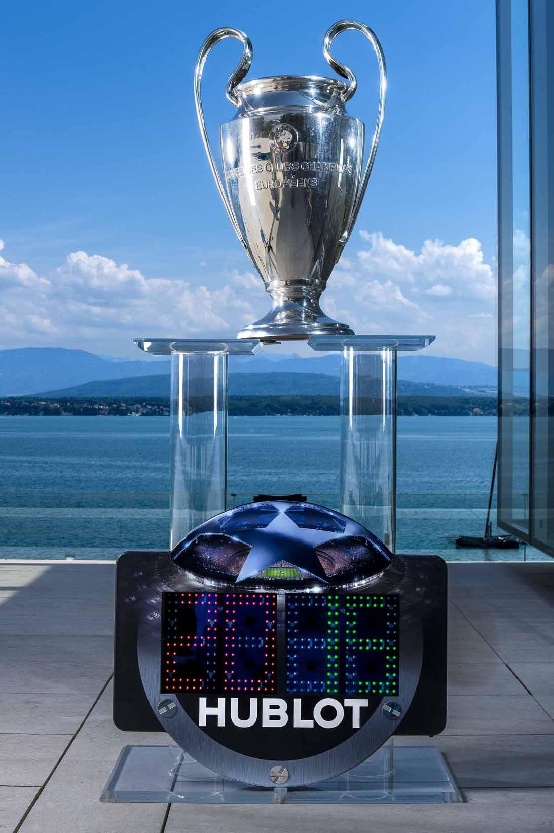 歐洲足球進入宇舶時間!HUBLOT宇舶錶正式成為歐洲冠軍聯賽和歐洲聯賽官方合作夥伴