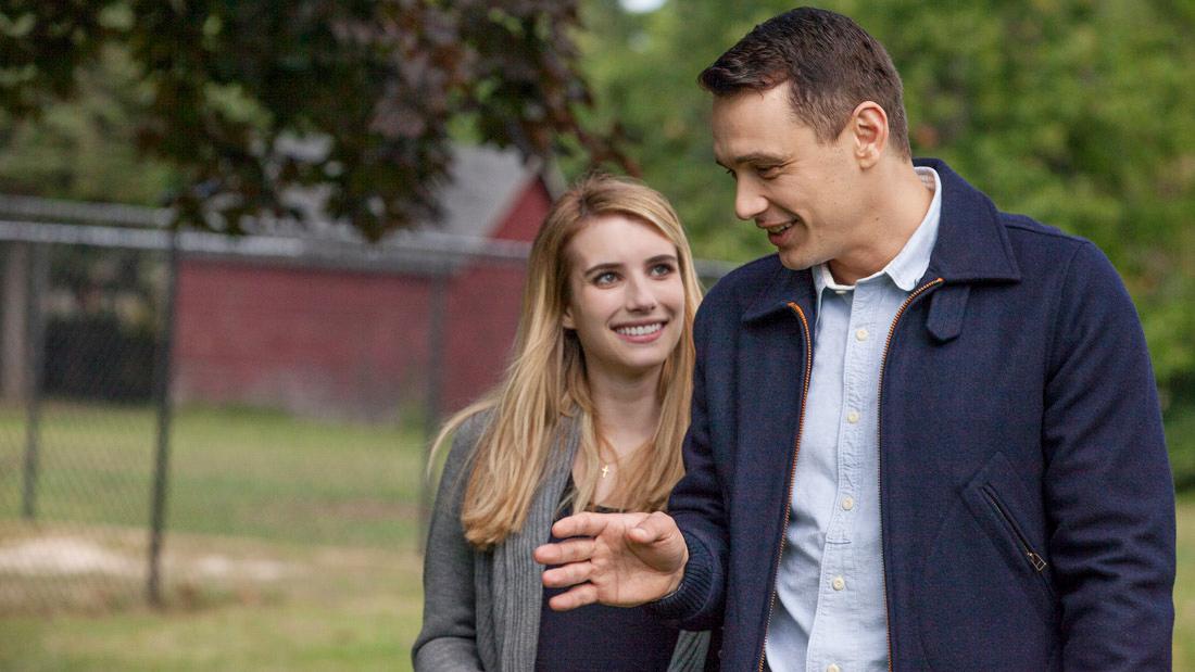 《麦可-我的直男前男友》Emma Roberts与James Franco