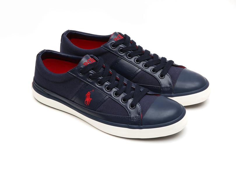 Polo Ralph Lauren Men 深藍色帆布運動鞋 NTD3,080