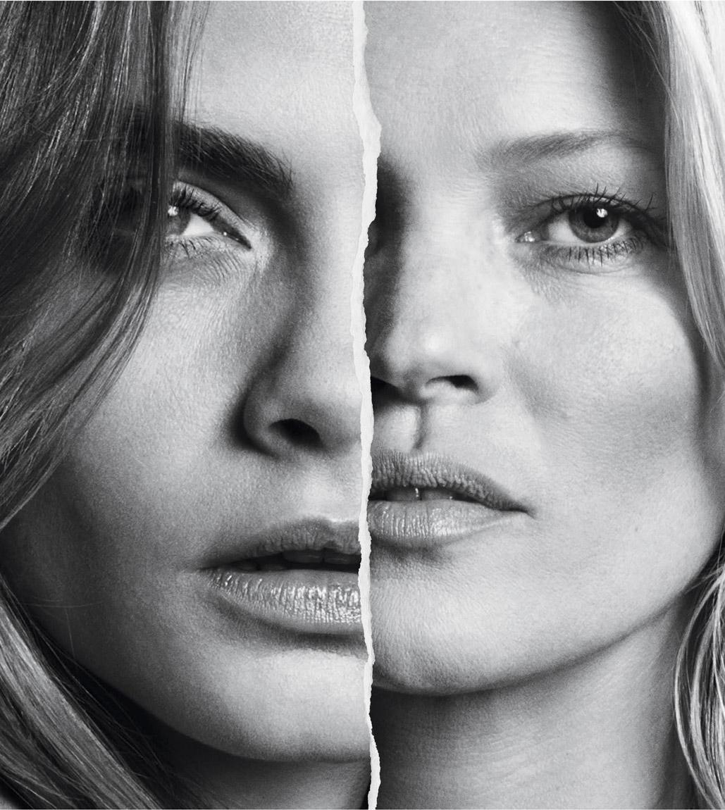 MANGO 2015 秋季全新形象,Kate Moss 與Cara Delevingne共同代言