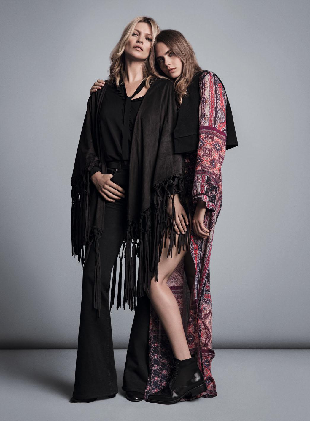 品牌形象以 #SOMETHINGINCOMMON (時尚共通性) 為主軸,透過凱特與卡拉「終極組合」,傳達出兩人那一份默契十足的互動情誼與獨特的時尚共通性。