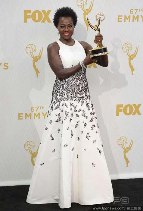 第67屆劇情類最佳女主角- Viola Davis