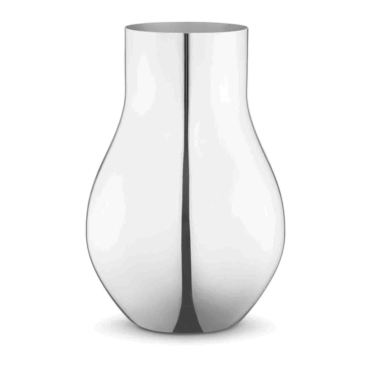 LIVING GEORG JENSEN CAFU系列 - 不鏽鋼花器(大型) 建議售價NT$6,900