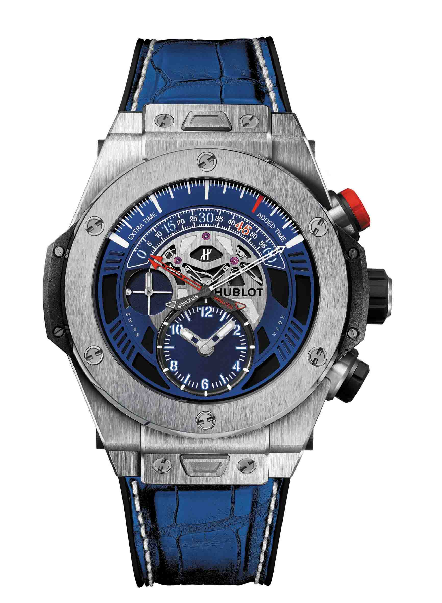 Hublot Loves Football推薦款 - Big Bang UNICO Bi-Retrograde Paris Saint-Germain 限量100只