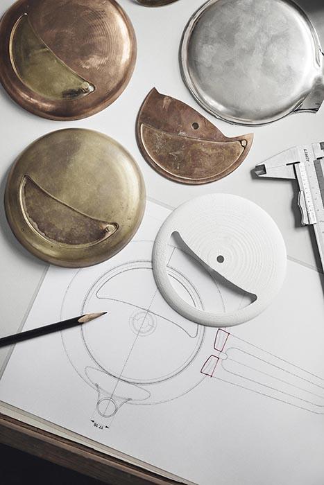 Marc Newson設計師款純銀茶組_設計原型