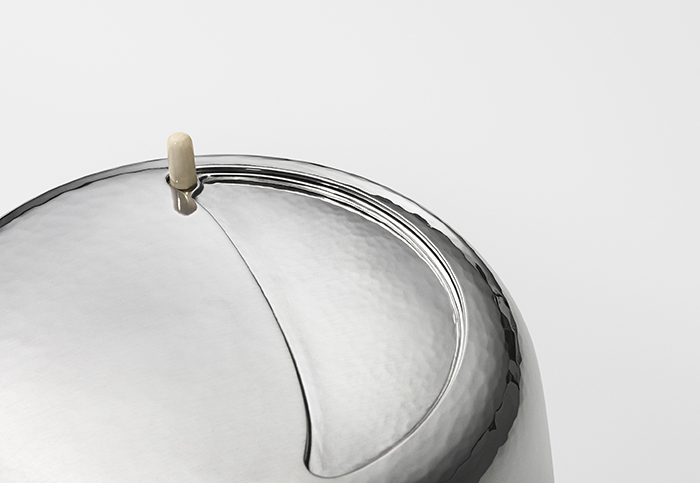 Marc Newson設計師款純銀茶組_細節近照