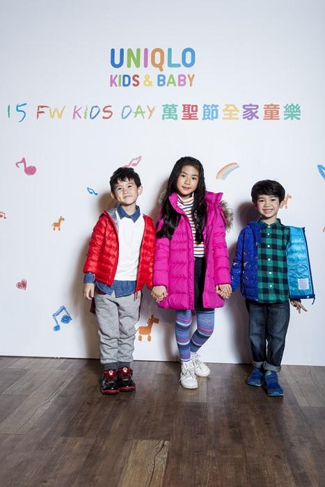 UNIQLO KIDS & BABY Warm Padded外套系列 鋪棉材質 保暖透氣 原價NT$1290起 1029-1102期間限定NT$990起