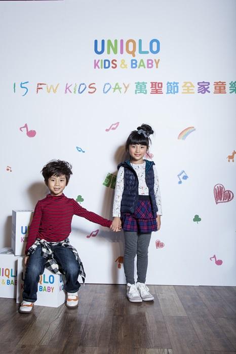 UNIQLO KIDS & BABY Heattech吸濕發熱衣系列 吸汗速乾 膚觸柔順 原價NT$290起 1029-1102期間限定NT$190起.