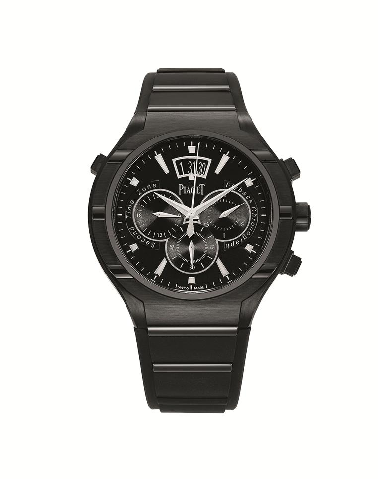 Piaget Polo FortyFive飛返計時腕錶 G0A37004 參考售價801,000