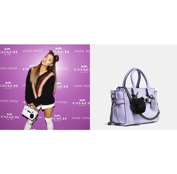 即將開賣!小天后Ariana Grande聯手COACH推出貓咪限量手袋