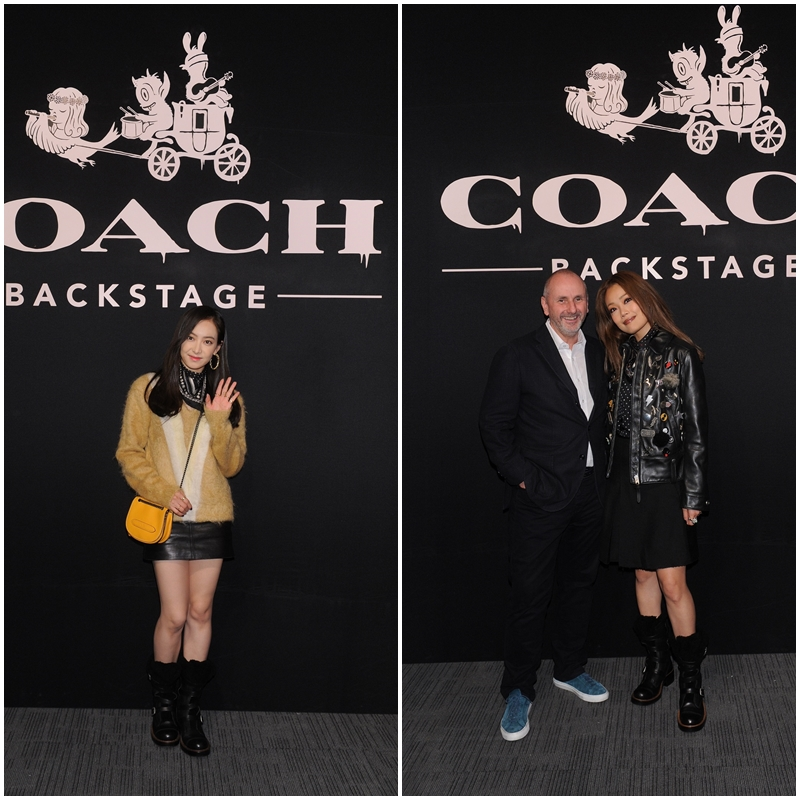 f(x)隊長 Victoria與台灣當紅男演員王大陸歡慶COACH香港旗艦店開幕