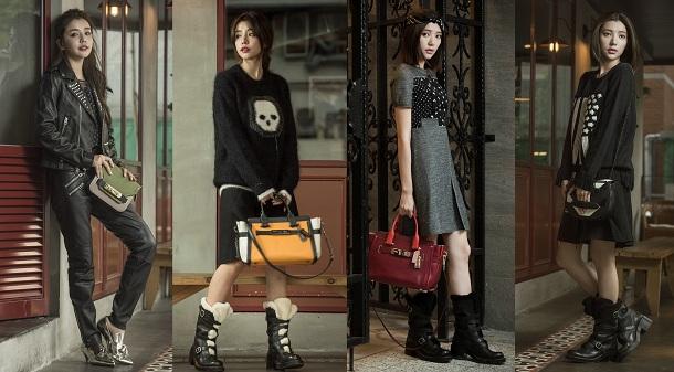 COACH經典美式風尚 看李毓芬與郭雪芙詮釋秋冬系列服裝