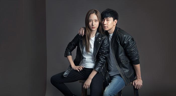 """""""Let's Gap Together""""系列廣告_Krystal&林俊傑"""