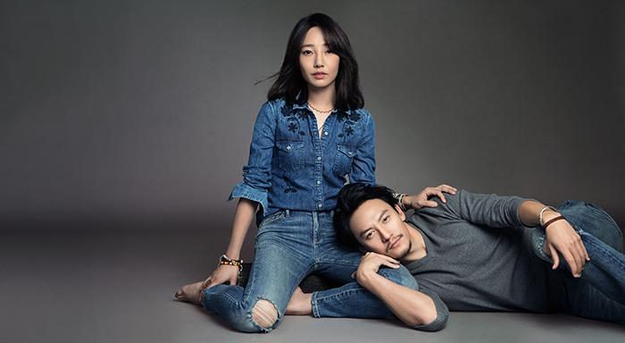 """Let's Gap Together""系列廣告_白百何&張震"