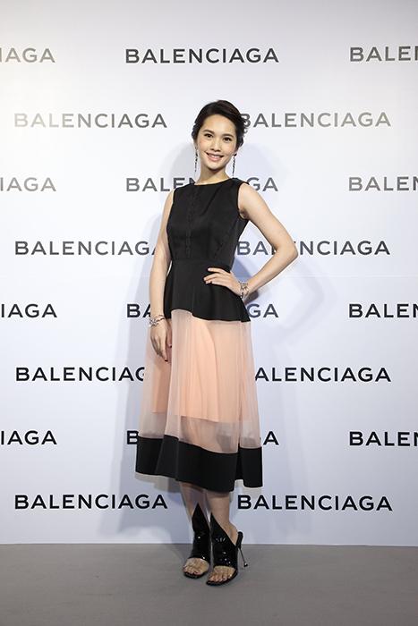 Balenciaga巴黎世家微風信義店盛大開幕,全能天后楊丞琳壓軸現身