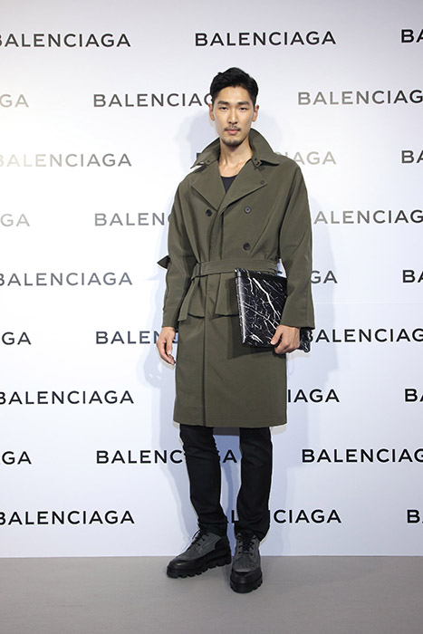 新生代演員姜康哲出席Balenciaga巴黎世家微風信義店開幕酒會星光大道