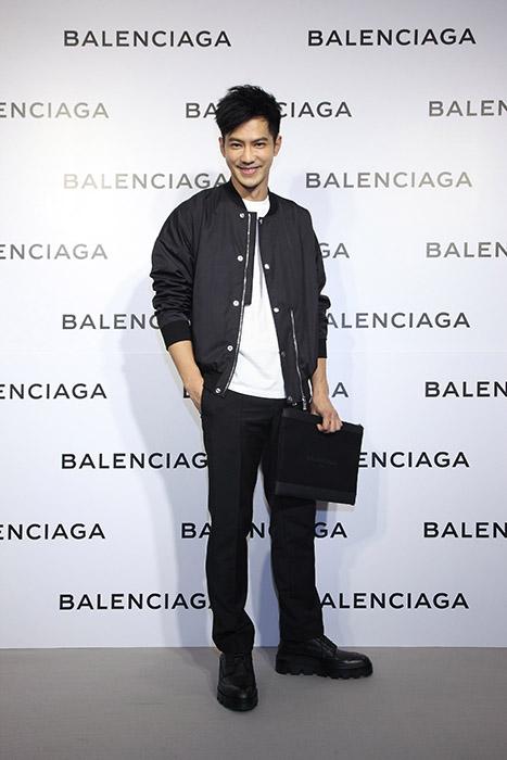 新生代演員鄒承恩出席Balenciaga巴黎世家微風信義店開幕酒會星光大道
