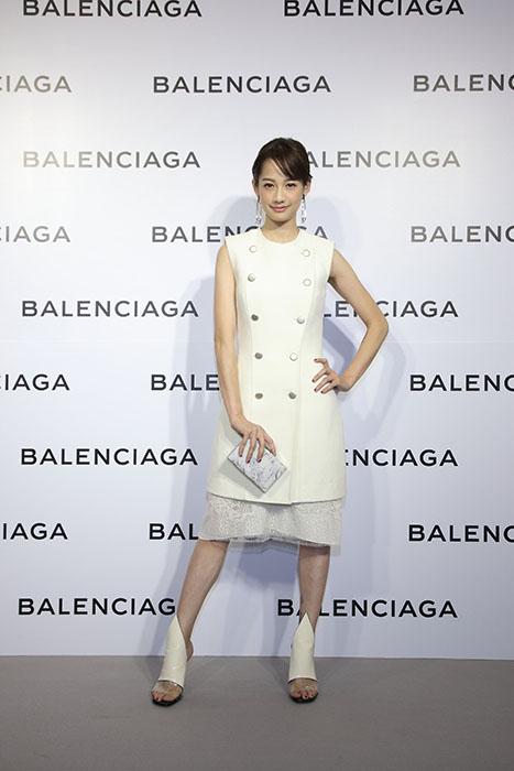 簡嫚書出席Balenciaga巴黎世家微風信義店開幕酒會星光大道