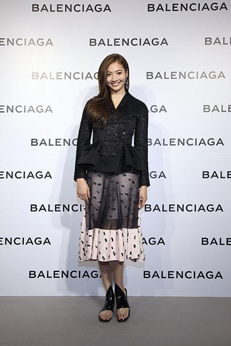謝沛恩出席Balenciaga巴黎世家微風信義店開幕酒會星光大道