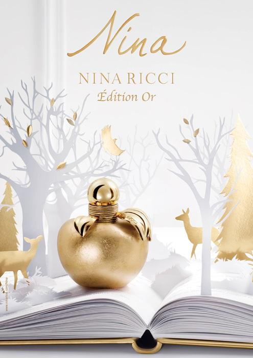 夢幻的童話香氛,NINA RICCI金色蘋果閃耀整個冬季