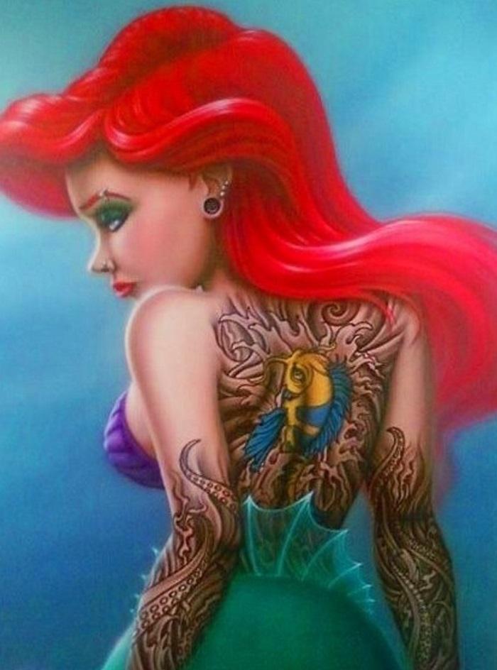 這個版本的小美人魚Ariel擁有無畏挑戰的勇氣