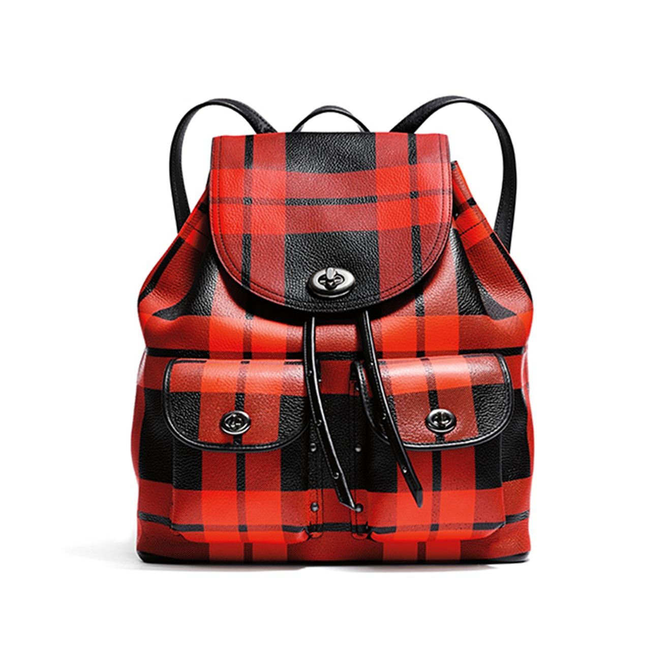 Coach Mount Plaid後背包,NT26,800