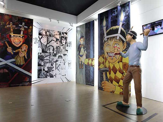 恐怖美學的極致體驗  伊藤潤二中全球首場個人大展在臺北華山登場!