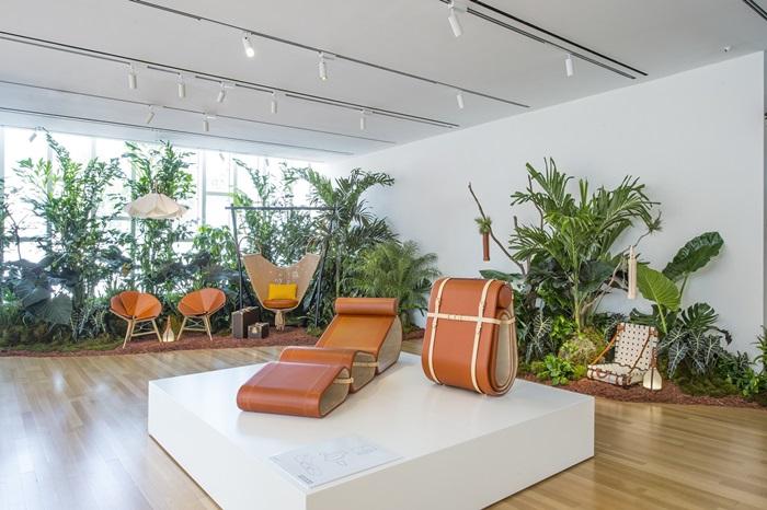 Objets Nomades系列躺椅